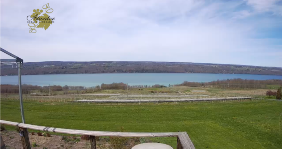 View from the Atwater deck of Seneca Lake