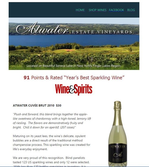 ATWATER WINERY NEWS AND PROMOTIONS