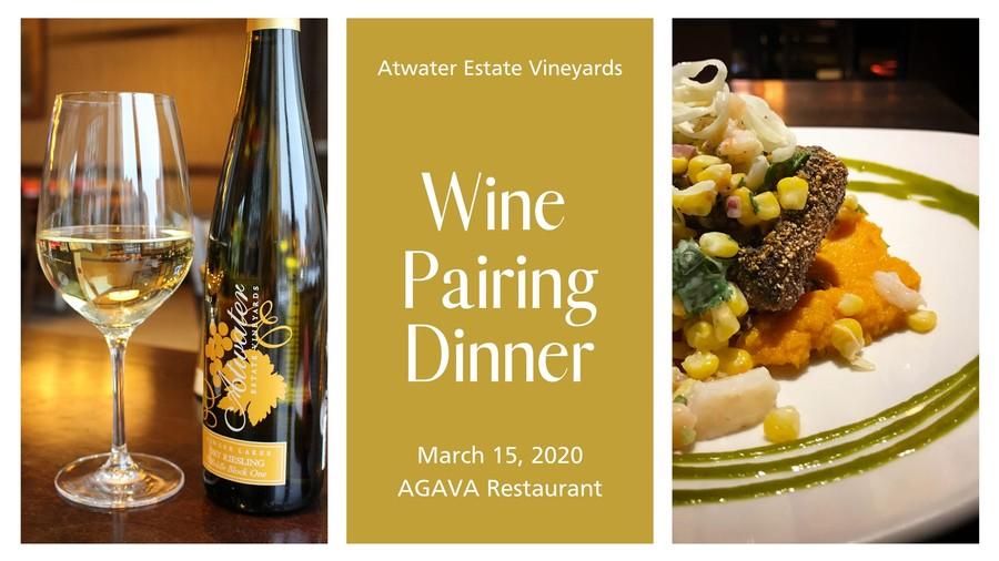 Wine Pairing Dinner at AGAVA