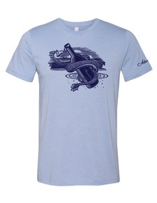 Serpent T-Shirt Blue