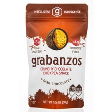 Grabanzos Crunchy Dark Chocolate Chickpea Snack